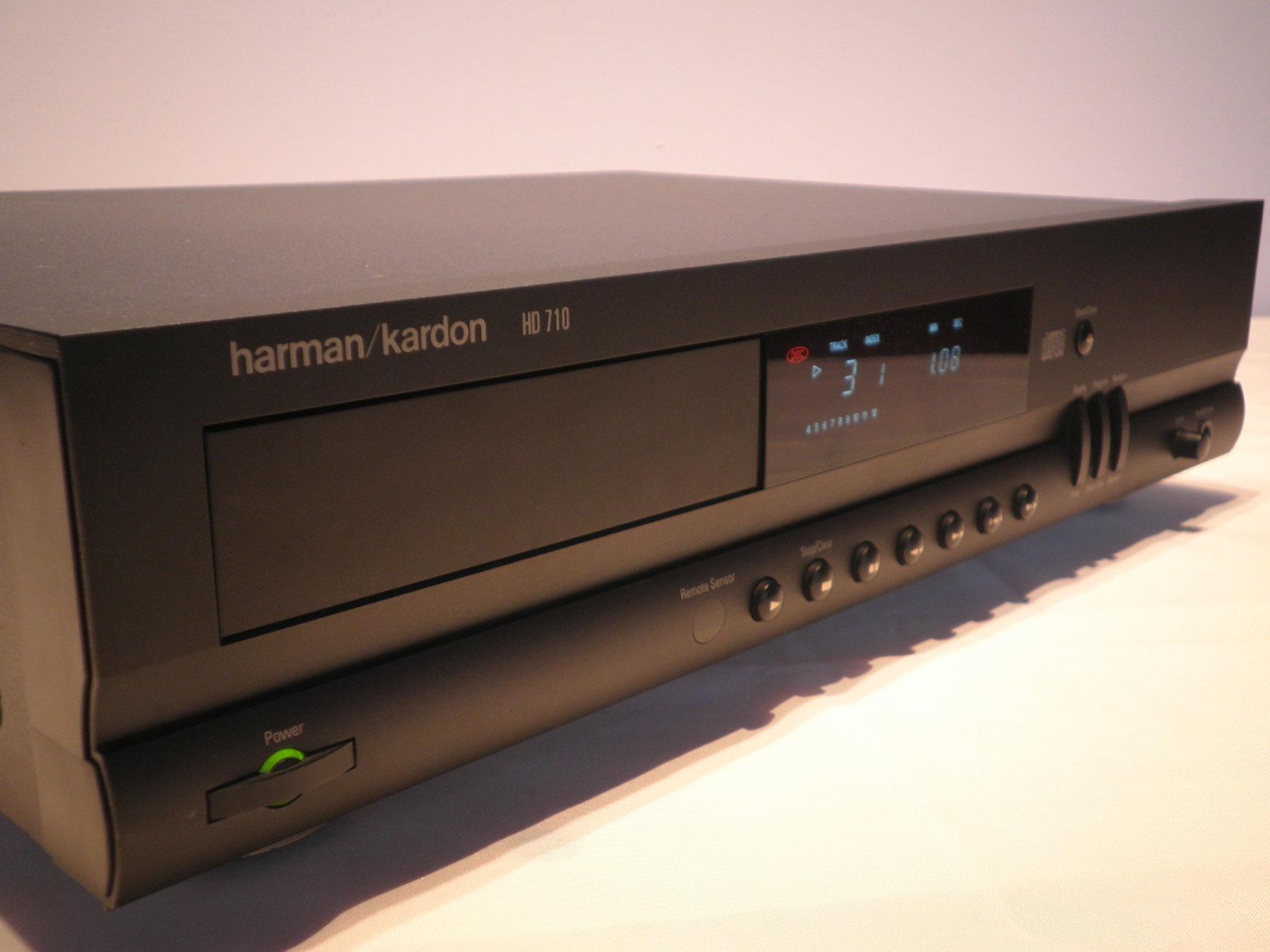 harman kardon cd player hd 710 ebay. Black Bedroom Furniture Sets. Home Design Ideas